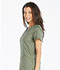 Photograph of Essence Women's V-Neck Top Green DK803-OLV