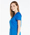 Photograph of Essence Women's V-Neck Top Blue DK803-ROY