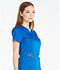 Photograph of Dickies Essence Women's V-Neck Top Blue DK803-ROY