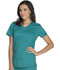 Photograph of Dickies Essence V-Neck Top in Teal Blue