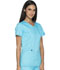 Photograph of Dickies Essence Women's V-Neck Top Blue DK803-TRQ