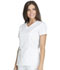 Photograph of Essence Women's V-Neck Top White DK803-WHT