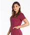 Photograph of Essence Women V-Neck Top Red DK803-WIN