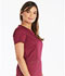 Photograph of Dickies Essence V-Neck Top in Wine