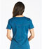 Photograph of Dickies Essence Mock Wrap Top in Caribbean Blue