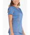 Photograph of Dickies Essence Mock Wrap Top in Ciel Blue