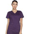 Photograph of Dickies Essence Women's Mock Wrap Top Purple DK804-EGG