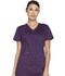 Photograph of Dickies Essence Women's Mock Wrap Top Purple DK804-EGG