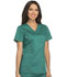 Photograph of Essence Women's Mock Wrap Top Green DK804-HUN