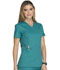 Photograph of Essence Women Mock Wrap Top Blue DK804-TLB