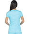 Photograph of Dickies Essence Women's Mock Wrap Top Blue DK804-TRQ