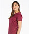 Photograph of Dickies Essence Mock Wrap Top in Wine