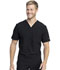 Photograph of Dickies Retro Men's V-Neck Top in Black