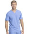 Photograph of Dickies Retro Men's Tuckable V-Neck Top in Ciel Blue
