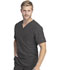 Photograph of Dickies Retro Men's V-Neck Top in Pewter