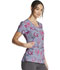 Photograph of Dickies Dickies Prints V-Neck Print Top in Care Slow Much