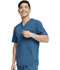 Photograph of Dickies Dickies Balance Men's V-Neck Top in Caribbean Blue