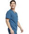 Photograph of Dickies Balance Men's Men's V-Neck Top Blue DK865-CAR