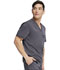 Photograph of Dickies Dickies Balance Men's Tuckable V-Neck Top in Pewter