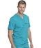 Photograph of Dickies Dickies Balance Men's Tuckable V-Neck Top in Teal Blue
