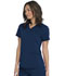 Photograph of Dickies Dickies Balance V-Neck Top With Rib Knit Panels in Navy