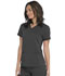 Photograph of Dickies Dickies Balance V-Neck Top With Rib Knit Panels in Pewter