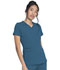 Photograph of Dickies Balance Women V-Neck Top Blue DK875-CAR