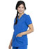 Photograph of Dickies Balance Women V-Neck Top Blue DK875-ROY