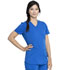 Photograph of Dickies Dickies Balance V-Neck Top in Royal