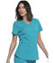Photograph of Dickies Dickies Balance V-Neck Top in Teal Blue