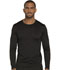 Photograph of Dickies Dynamix Men's Men's Long Sleeve Underscrub Knit Top Black DK910-BLK