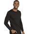 Photograph of Dickies Dynamix Men's Long Sleeve Underscrub Knit Top in Black