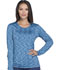 Photograph of Dynamix Women's Underscrub Long Sleeve Knit Tee Blue DK920-NAV