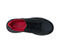 Photograph of Infinity Footwear Shoes Women's DRIFT Black, Black, Red DRIFT-BBRE