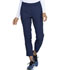 Photograph of Simply Polished Women Mid Rise Tapered Leg Ankle Pant Blue EL101-NAV