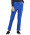 Photograph of Simply Polished Women Mid Rise Straight Leg Drawstring Pant Blue EL122-ROY