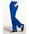 Photograph of Simply Polished Women Mid Rise Straight Leg Pull-on Pant Blue EL130P-ROY