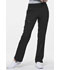 Photograph of Simply Polished Women Mid Rise Straight Leg Pull-on Pant Black EL130T-BLK