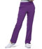 Photograph of Simply Polished Women's Mid Rise Straight Leg Pull-on Pant Purple EL130-ABG