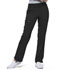 Photograph of Simply Polished Women Mid Rise Straight Leg Pull-on Pant Black EL130-BLK