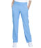Photograph of Simply Polished Women Mid Rise Straight Leg Pull-on Pant Blue EL130-BUEE