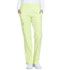 Photograph of Simply Polished Women Mid Rise Straight Leg Pull-on Pant Green EL130-LISO