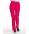 Photograph of Simply Polished Women Mid Rise Straight Leg Pull-on Pant Red EL130-RUE