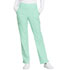 Photograph of Simply Polished Women's Mid Rise Straight Leg Pull-on Pant Green EL130-SPMT