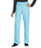 Photograph of Simply Polished Women Mid Rise Straight Leg Pull-on Pant Blue EL130-TRQ