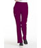 Photograph of Simply Polished Women Mid Rise Straight Leg Pull-on Pant Purple EL130-WIN