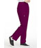 Photograph of Simply Polished Women's Mid Rise Straight Leg Pull-on Pant Red EL130-WIN