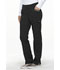 Photograph of Simply Polished Women's Mid Rise Tapered Leg Drawstring Pant Black EL150-BLK