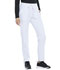Photograph of Simply Polished Women Natural Rise Straight Leg Pant White EL167-WHT