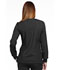 Photograph of Simply Polished Women's Snap Front Warm-up Jacket Black EL300-BLK